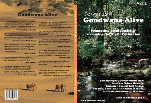 Gondwana Alive cover & endorsements-1 500w