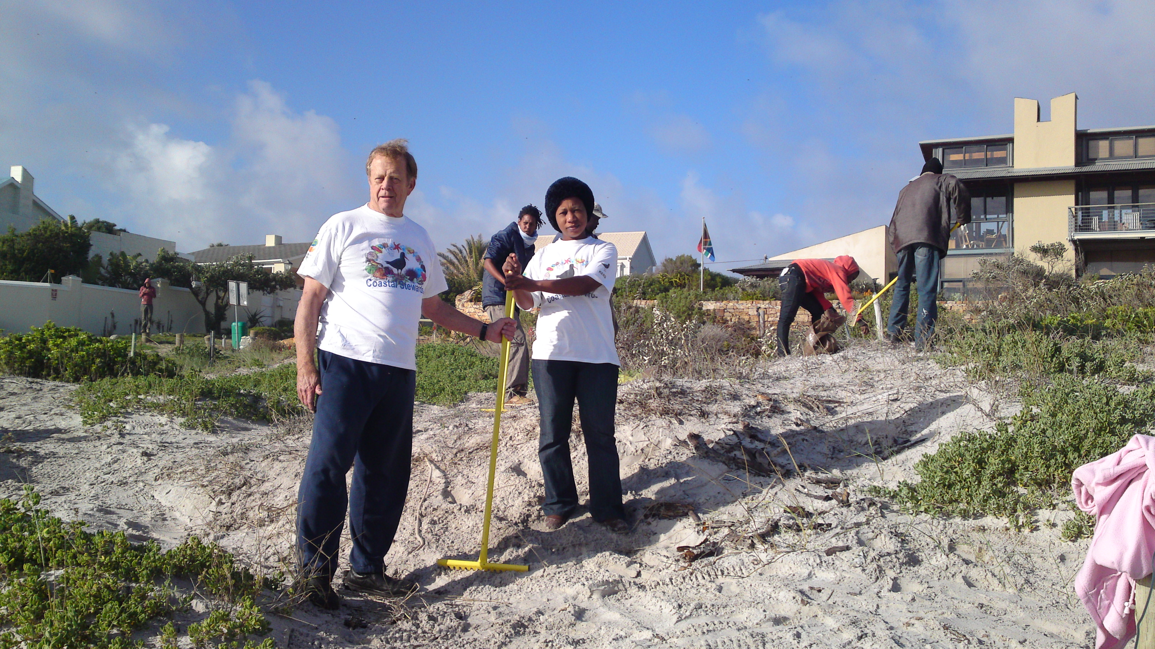 Wetland restored by Kommetjie Coastal Stewards